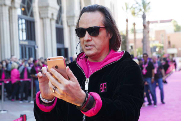 John Legere, T-Mobile US.