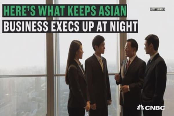 This is what Asian business execs fear