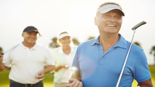 Playing golf can add 5 years to your life