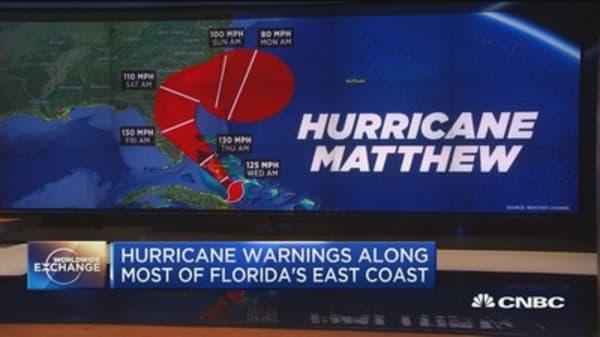 Hurricane Matthew triggers Fla. evacuations