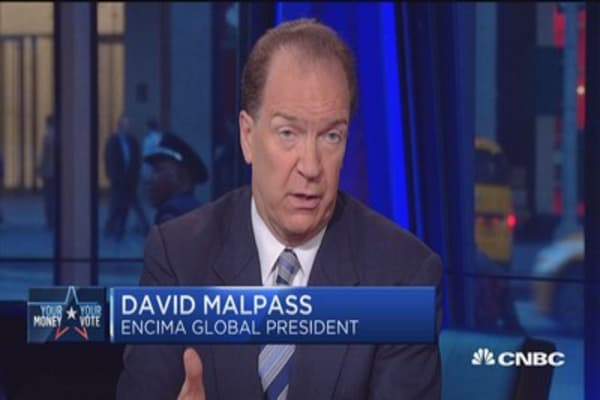 Election offers clear economic choice: David Malpass