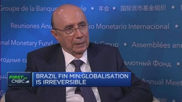 Globalisation is irreversible: Brazilian FinMin