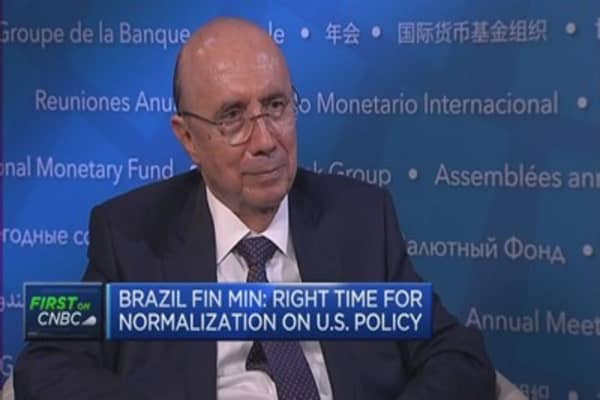 Time for normalisation of US monetary policy: Brazil FinMin