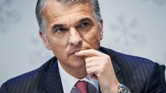 UBS CEO says this is one of the worst first-quarter environments in history