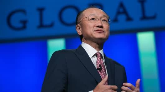 World Bank President Jim Yong Kim.