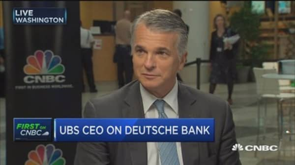 UBS CEO: We don't know the price of negative rates