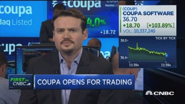 Coupa CEO: Value for customers is what we care about
