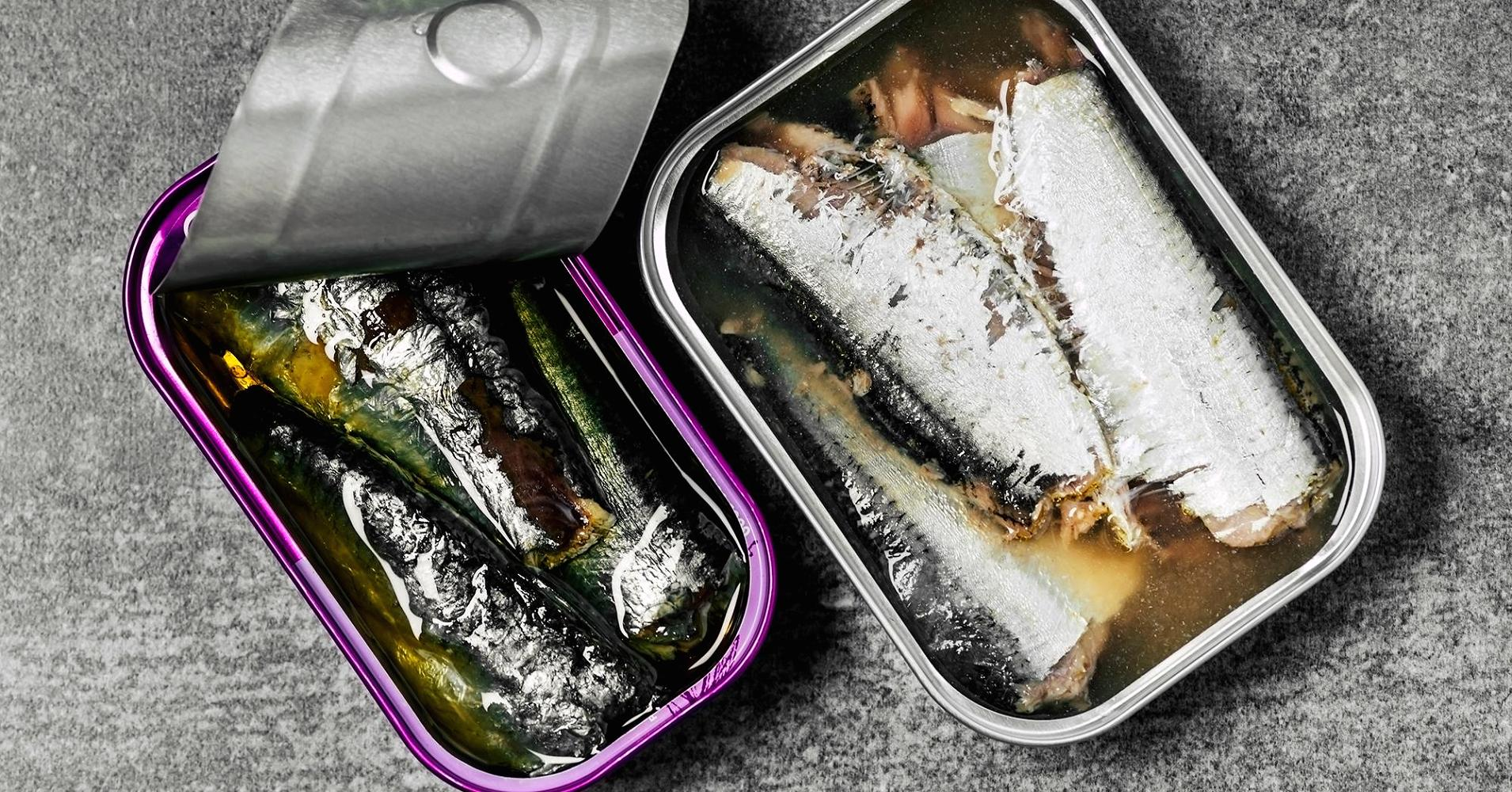 Why this millionaire investor eats five cans of sardines every day