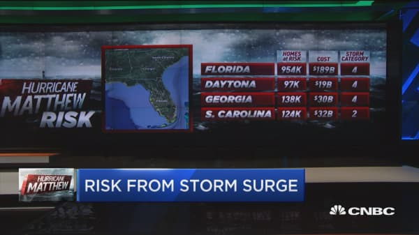 $200B coastal home damage possible