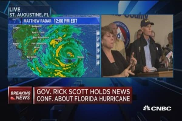 Gov. Scott: If you're in evacuation zone, get out now