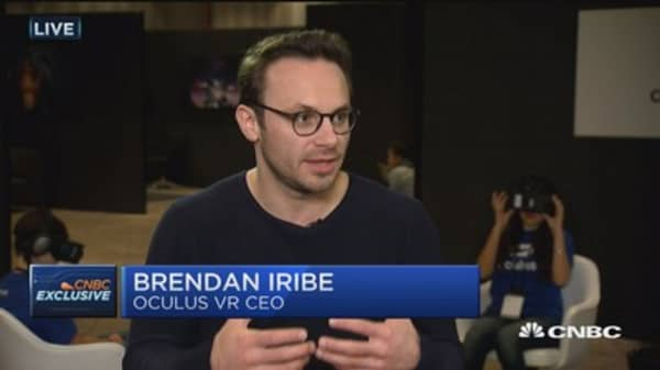Oculus VR CEO: VR is now a reality