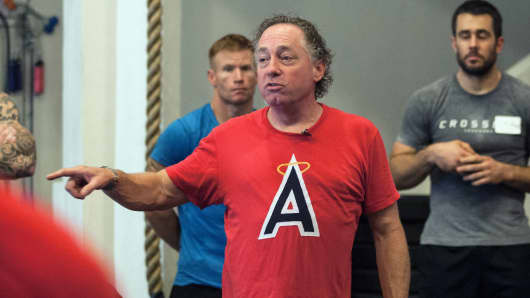 Crossfit Inc. founder and CEO Greg Glassman