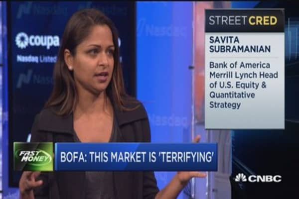 BofA: This market is 'terrifying'