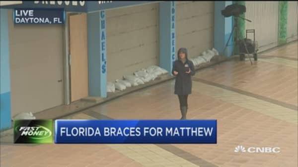Hurricane Matthew to reach Florida's east coast tonight