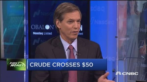 Top oil analyst on crude's rally