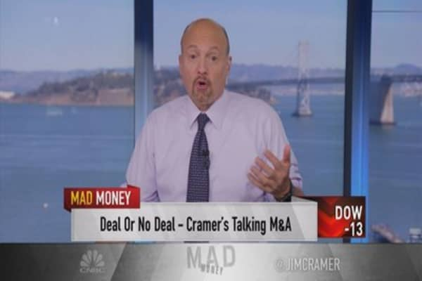 Cramer: Salesforce may have called off talks with Twitter because of LinkedIn