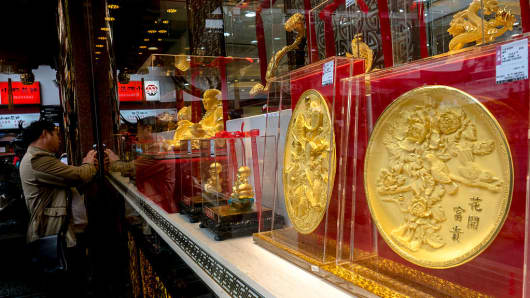 An overbuilt property market and a devaluation of the yuan in 2015 made Chinese investors one of the world's largest consumers of gold.