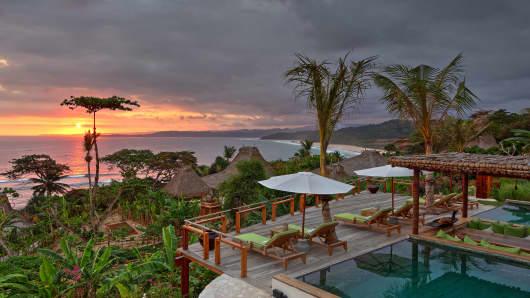 Nihiwatu, located on the island of Sumba in Indonesia