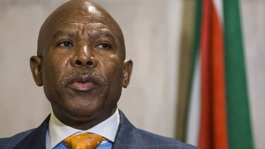 Lesetja Kganyago, governor of the South African Reserve Bank.