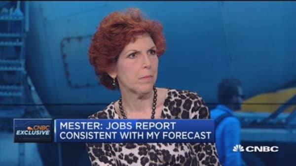 Fed's Mester: All meetings are 'on the table'