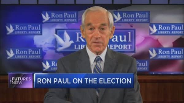 """Ron Paul: """"There's going to be a lot more uncertainty"""""""