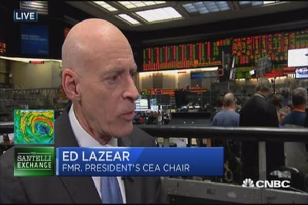Lazear on the jobs report, wages