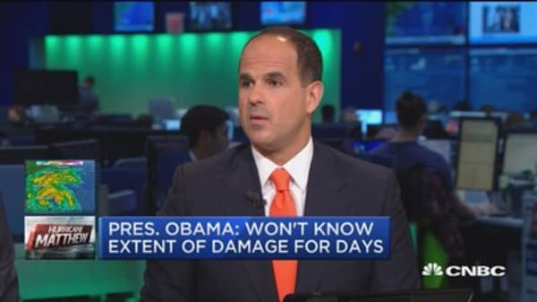Marcus Lemonis: Some businesses won't survive Hurricane Matthew