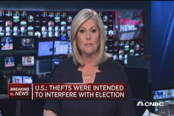 US accuses Russia of directing recent hackings