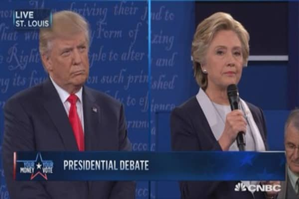 Clinton: The tape represents exactly who Trump is