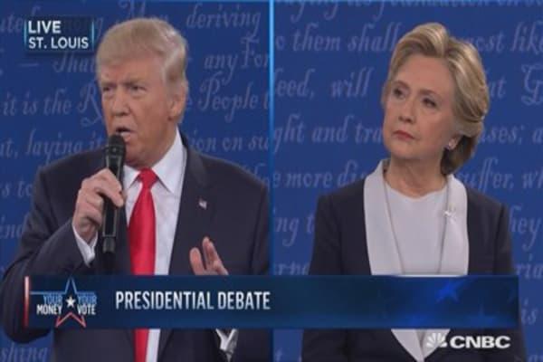 Trump: That was locker room talk
