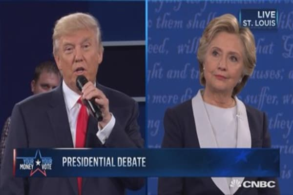 Trump: Clinton is a fighter