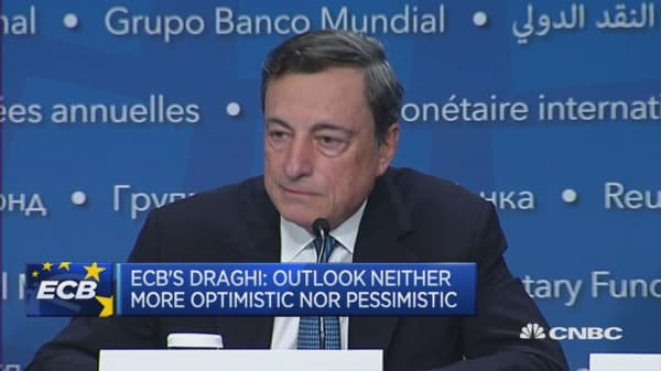 We see a firmer recovery in Europe in 2017: ECB's Mario Draghi