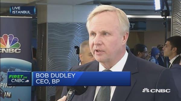 Oil price now has breathing room: BP CEO