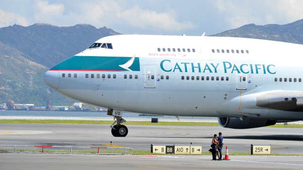 Cathay Pacific says farewell