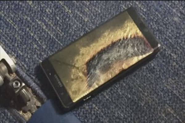 Samsung's still not out of the heat