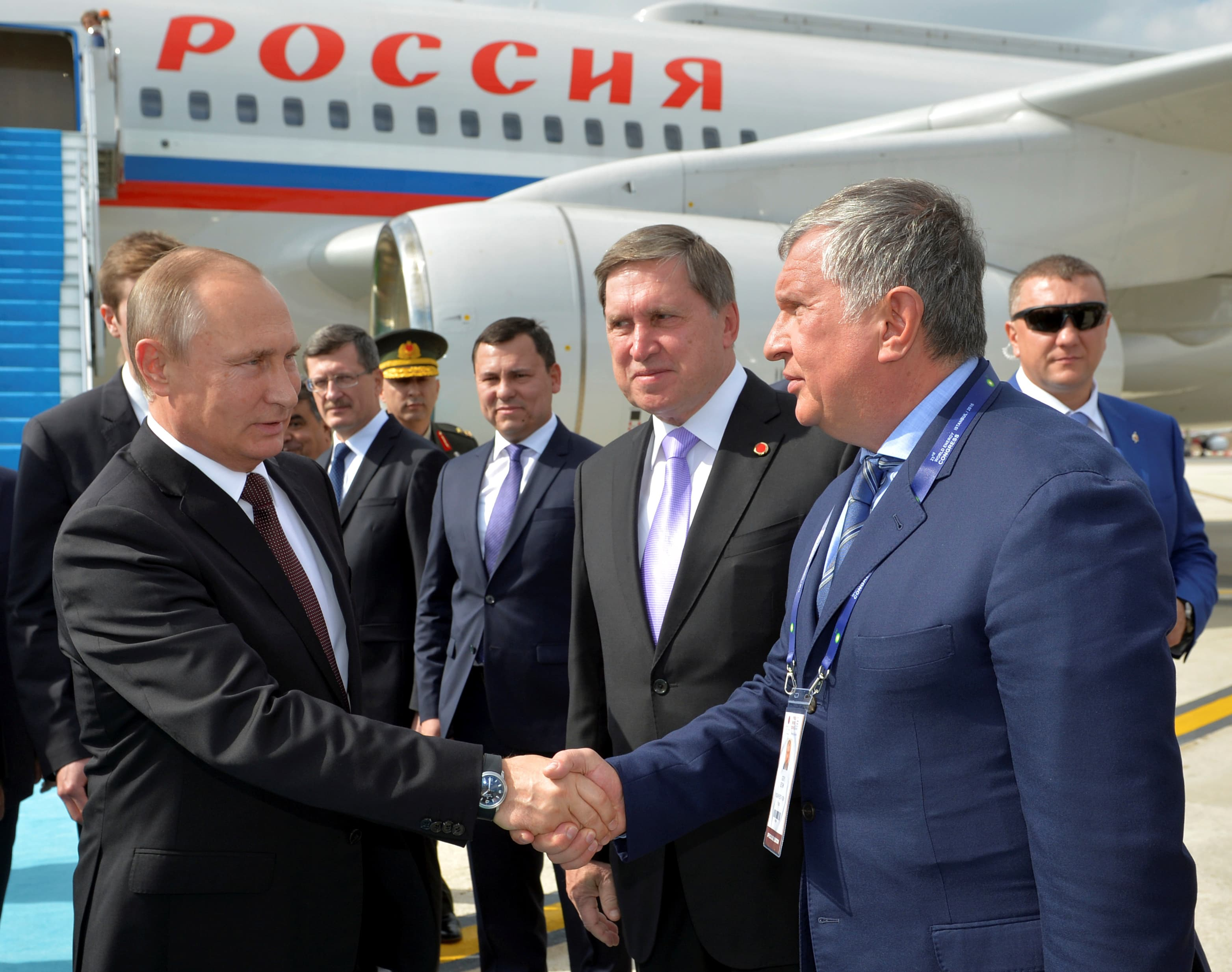 The United States imposed sanctions against Sechin, Volodin and Kozak 04/28/2014 75