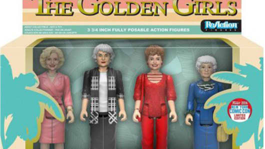 Golden Girls acton figures.