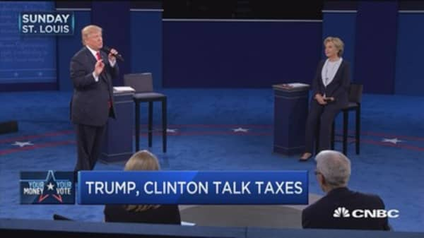 The second debate showdown