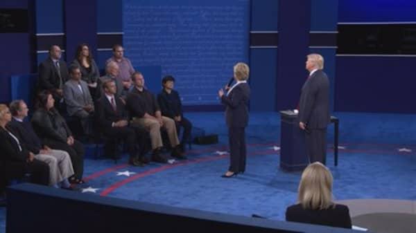 Trump's body language spoke loudly