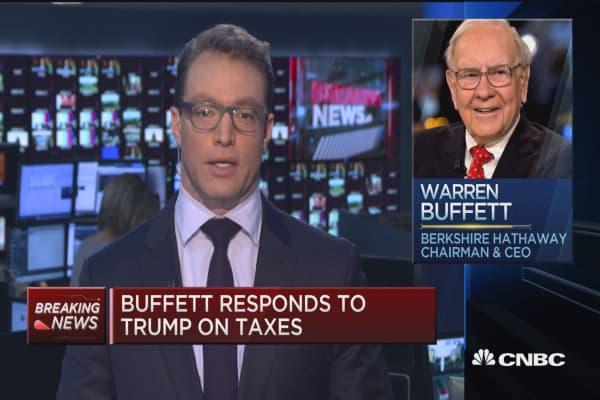 Buffett: Trump hasn't seen my tax returns