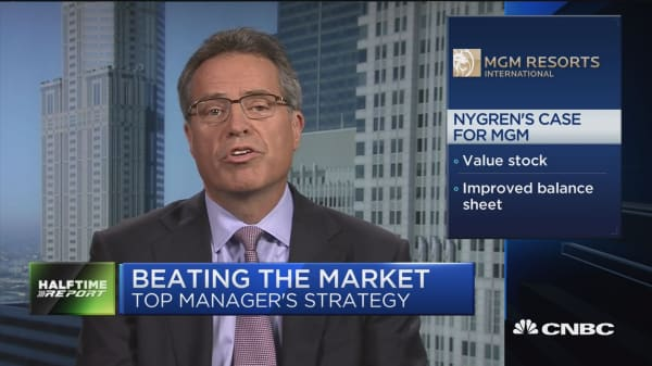 How Nygren is beating 95% of his peers this year