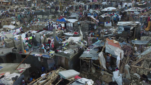 The full scale of the devastation in hurricane-hit rural Haiti became clear as the death toll surged over 400, three days after Hurricane Matthew leveled huge swaths of the country's south.