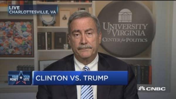 Clinton's electoral edge