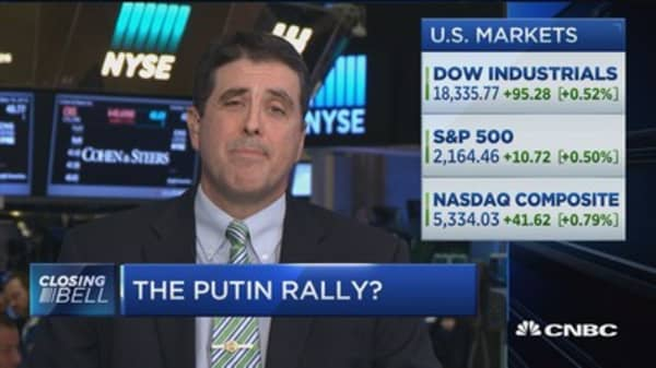 Closing Bell Exchange: Market rally on Putin comments
