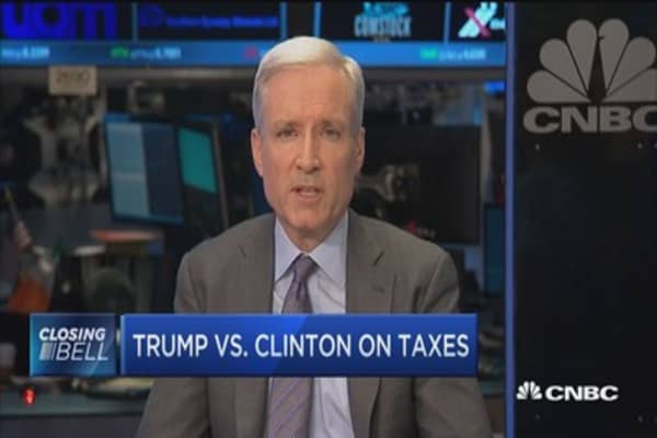 Trump vs. Clinton on taxes