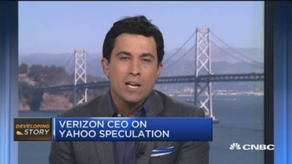 Verizon CEO: We still see a real value in Yahoo