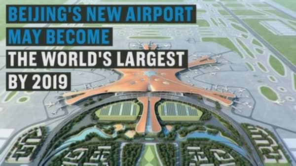 Beijing's new airport may become the world's largest
