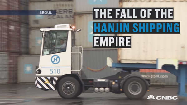 The fall of the Hanjin shipping empire