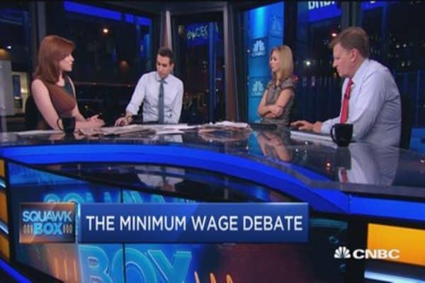 Small biz politics: Wages