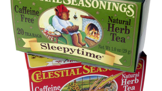 Celestial Seasonings teas